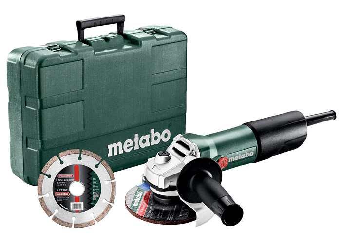 Болгарка METABO W 850-125 SET