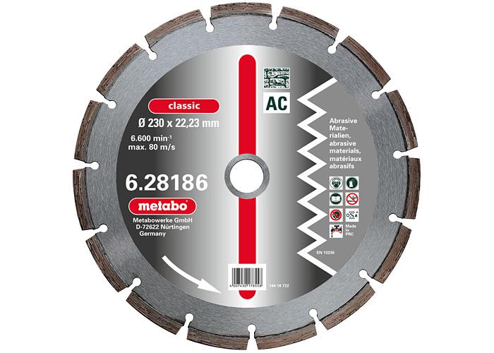 Алмазный круг  METABO Classic AC 300 мм (628187000)