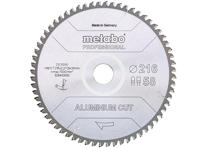 Пильный диск METABO Aluminium Cut Prof 254 мм (628447000)