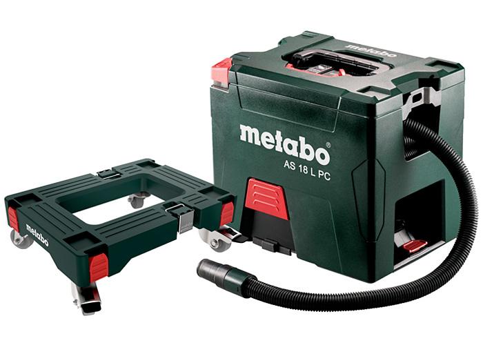 Аккумуляторный пылесос METABO AS 18 L PC Каркас + Площадка