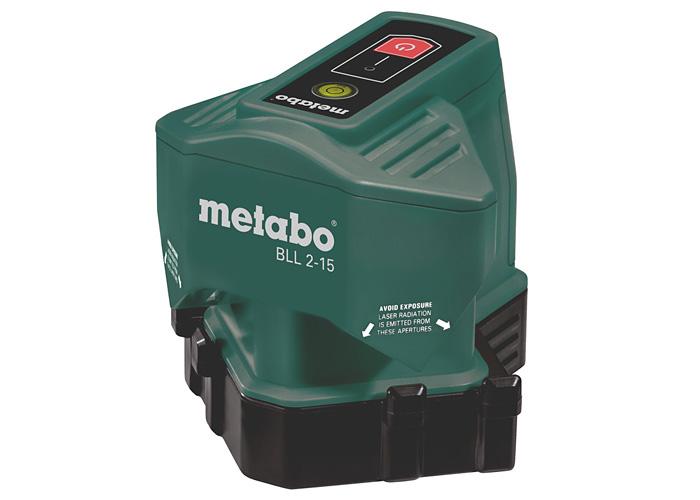 Лазерный линейный нивелир METABO BLL 2-15
