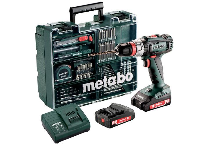 Аккумуляторный шуруповерт METABO BS 18 L Quick Set Mobile Workshop