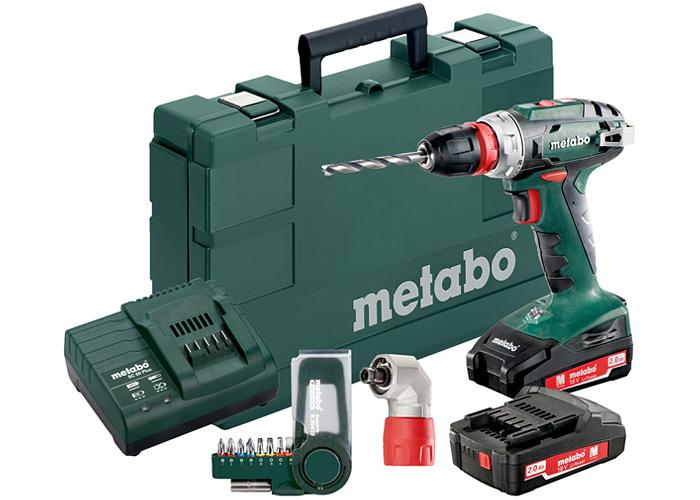 Аккумуляторный шуруповерт METABO BS 18 Quick Set