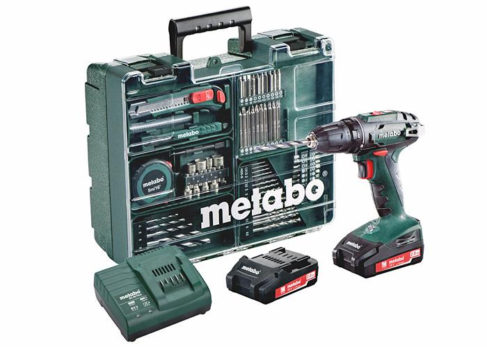 Аккумуляторный шуруповерт METABO BS 18 Set