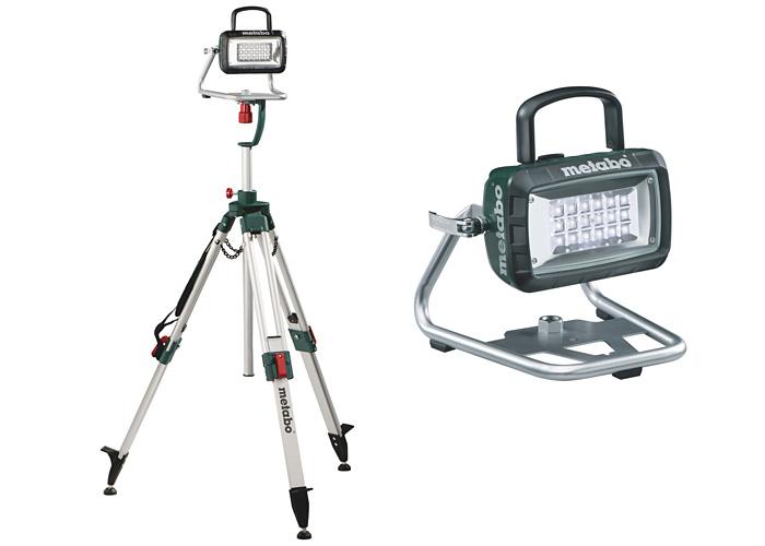 Аккумуляторный фонарь METABO BSA 14,4-18 + штатив