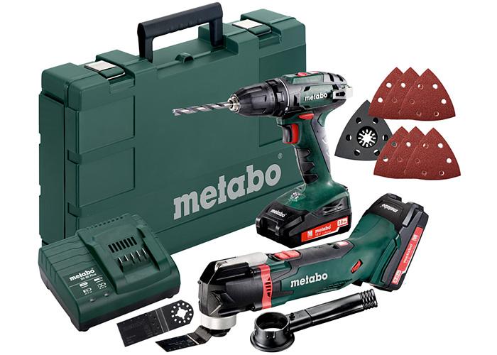 Набор инструментов METABO Combo Set 2.6.1 18 V