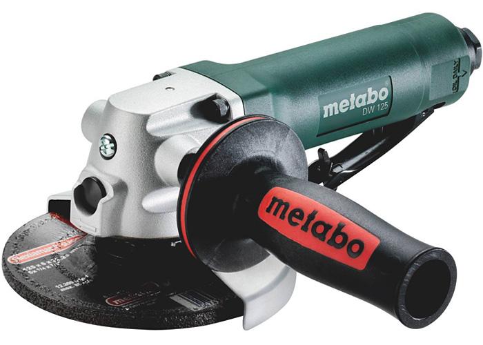 Пневматическая угловая шлифмашина METABO DW 125