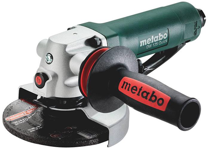 Пневматическая угловая шлифмашина METABO DW 125 Quick