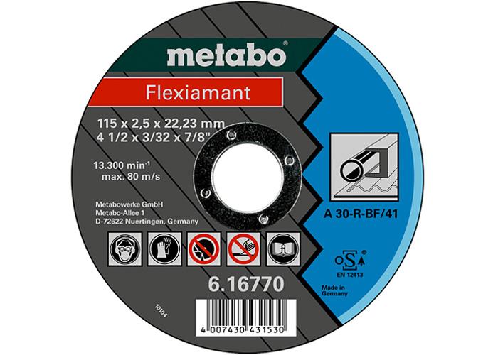 Отрезной круг  METABO Flexiamant 115 мм (616770000)