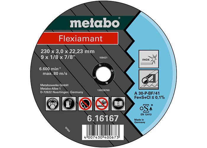 Отрезной круг  METABO Flexiamant 180 мм (616163000)