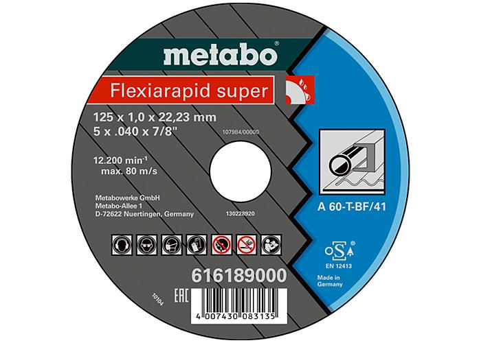 Отрезной круг  METABO Flexiamant super 125 мм (616192000)
