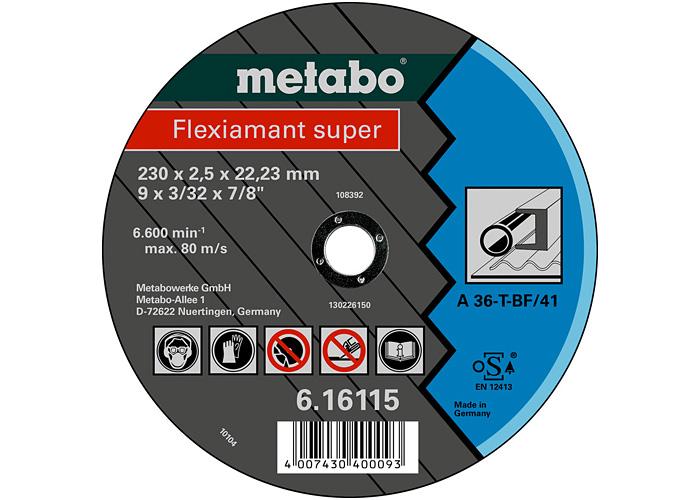 Отрезной круг  METABO Flexiamant super 230 мм (616103000)