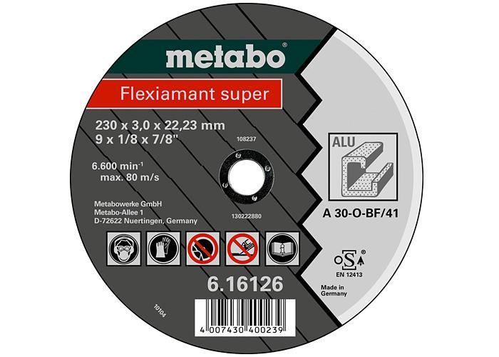 Отрезной круг  METABO Flexiamant super 115 мм (616751000)