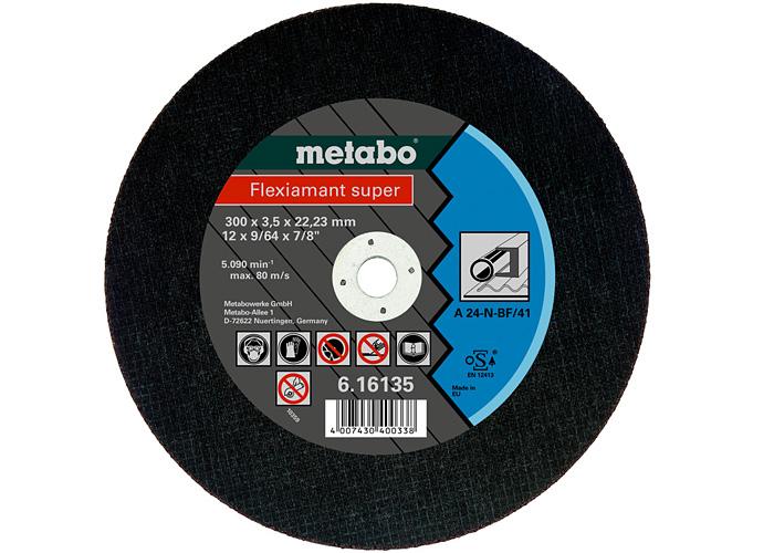 Отрезной круг  METABO Flexiamant super 300 мм (616135000)