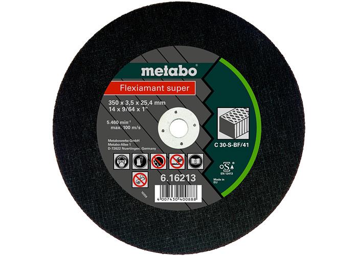 Отрезной круг  METABO Flexiamant super 350 мм (616213000)