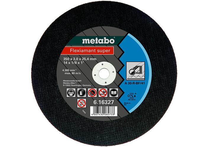Отрезной круг  METABO Flexiamant super 350 мм (616327000)