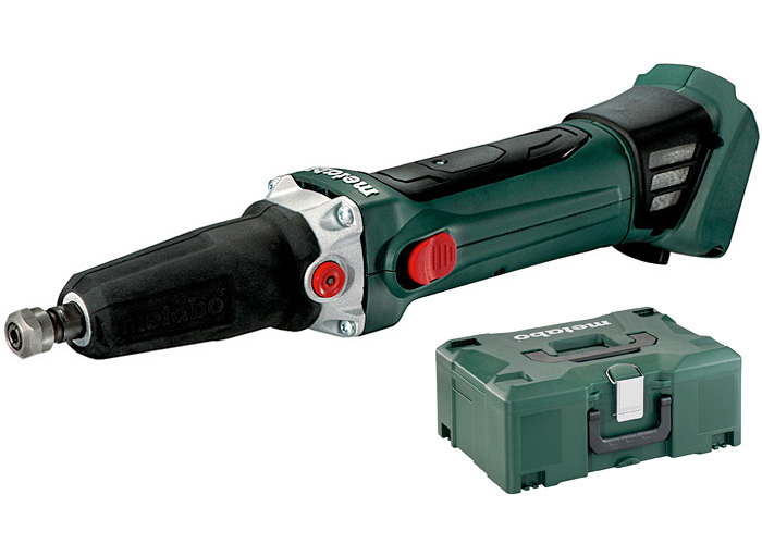 Аккумуляторная прямая шлифмашина METABO GA 18 LTX Каркас + MetaLoc