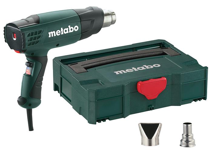 Строительный фен METABO HE 20-600 + MetaLoc