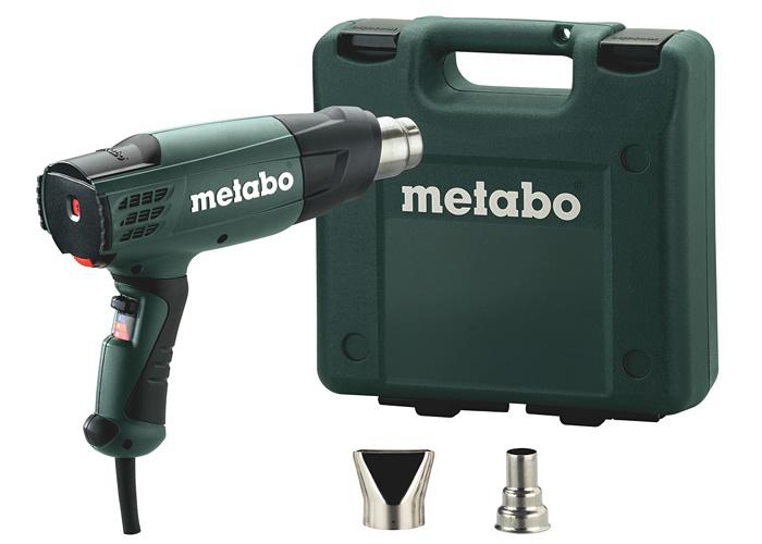 Строительный фен METABO HE 20-600 + кейс