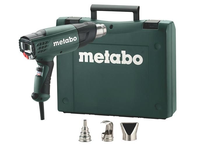 Строительный фен METABO HE 23-650 Control + кейс