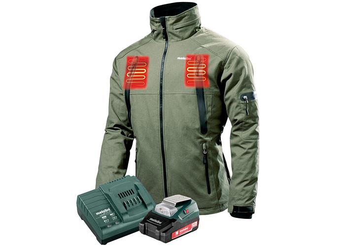 Куртка с подогревом METABO HJA 14.4-18 (XXXL) Set