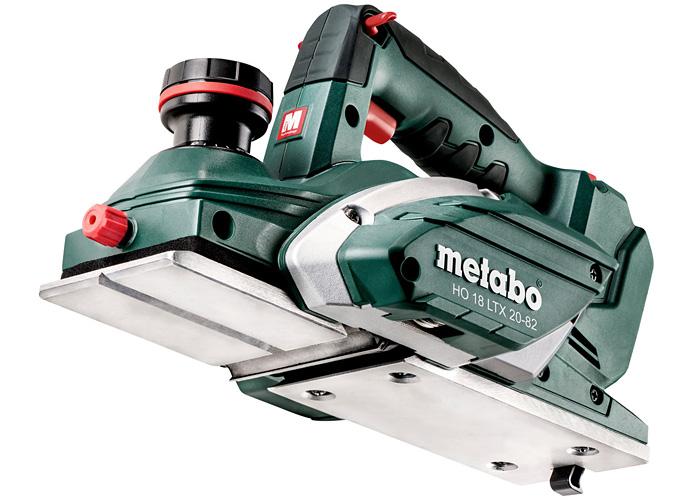 Аккумуляторный рубанок METABO HO 18 LTX 20-82 Каркас + MetaLoc