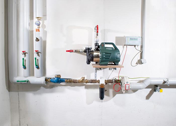 Поверхностный насос-автомат METABO HWAI 4500 Inox