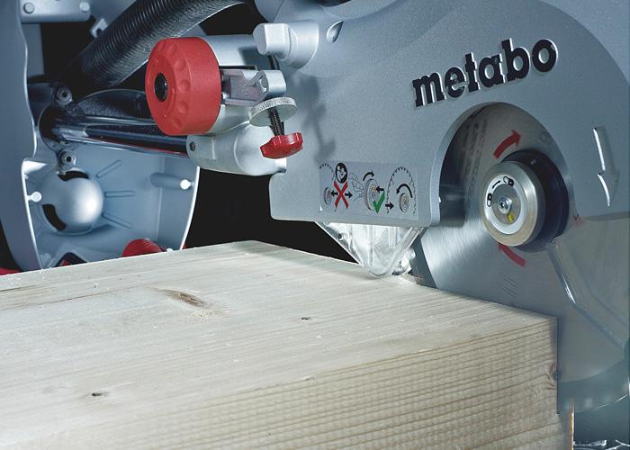 Торцовочная пила METABO KGS315PlusSet + KSU 251