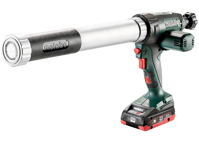 Аккумуляторный пистолет для герметика METABO KPA 18 LTX 600 (4,0 Ач)