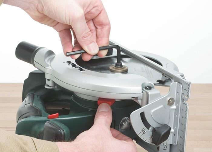 Аккумуляторная дисковая пила METABO KSA 18 LTX