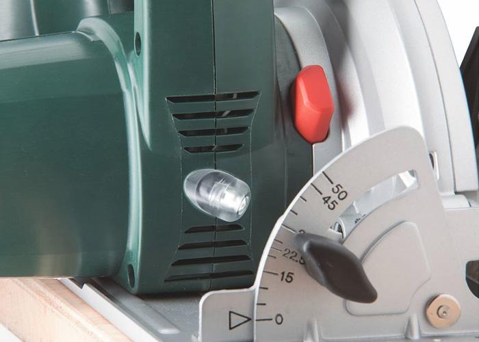 Аккумуляторная дисковая пила METABO KSA 18 LTX Каркас + вставка MetaLoc