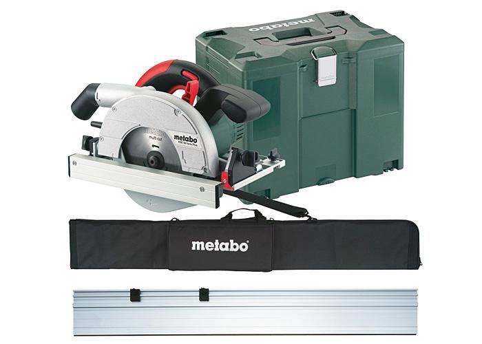 Ручная дисковая пила METABO KSE 55 Vario Plus SET + MetaLoc