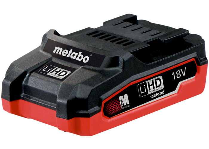 Аккумуляторный блок METABO LiHD 18 В - 3,1 Ач