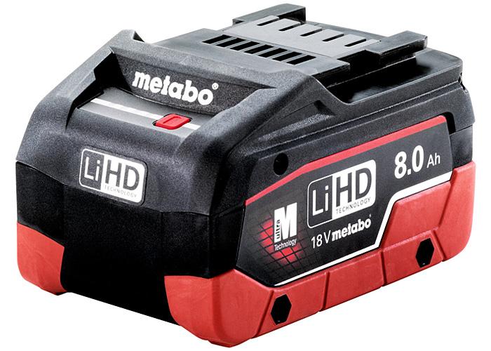 Аккумуляторный блок METABO LiHD 18 В - 8,0 Ач