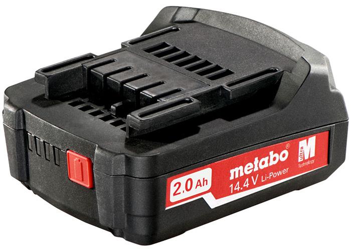 Аккумуляторный блок METABO Li-Ion 14,4 В - 2,0 Ач