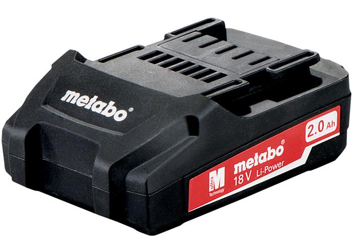 Аккумуляторный блок METABO Li-Ion 18 В - 2,0 Ач
