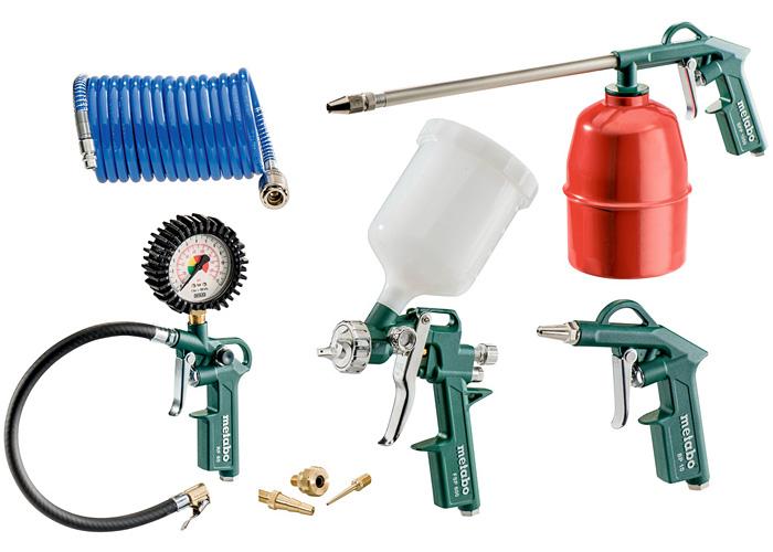 Набор пневматических инструментов METABO LPZ 7 Set