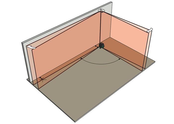 Лазерный линейный нивелир METABO MLL 3-20 + MetaLoc