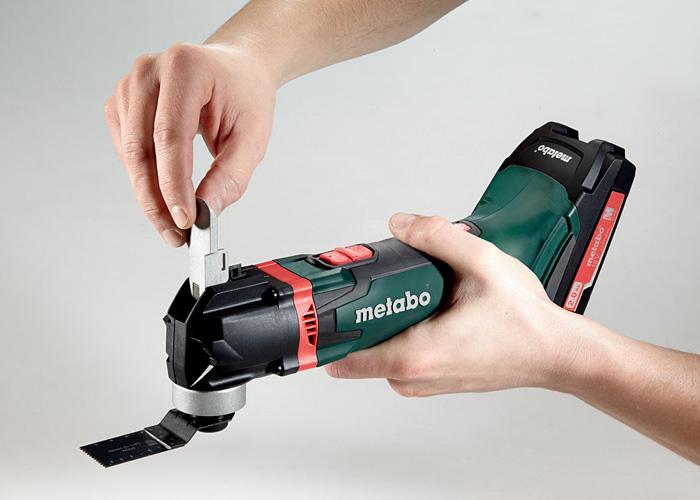 Аккумуляторный мультитул METABO MT 18 LTX Compact (2 x 4,0 Ач)