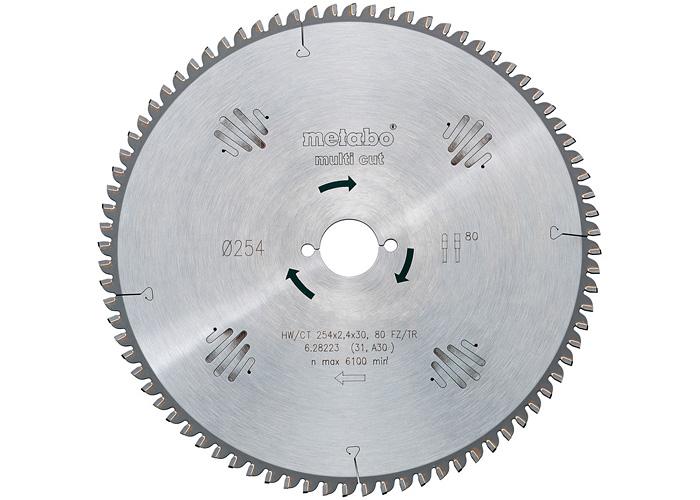 Пильный диск METABO Multi Cut 167 мм (628074000)