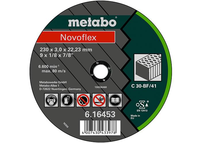 Отрезной круг  METABO Novoflex 180 мм (616458000)
