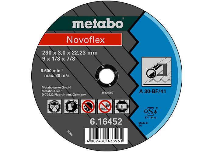 Отрезной круг  METABO Novoflex 180 мм (616450000)