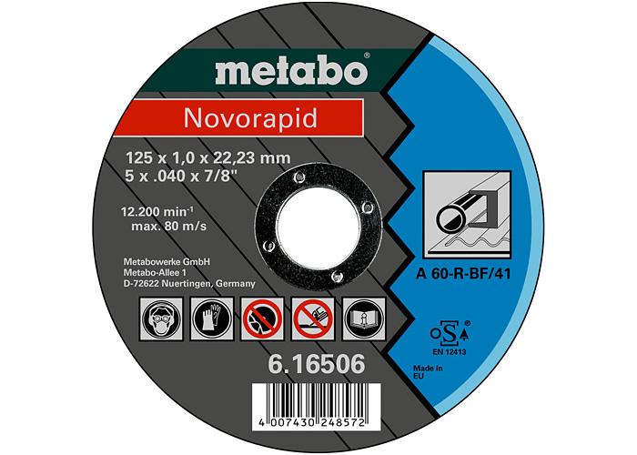Отрезной круг  METABO Novorapid 125 мм (616506000)