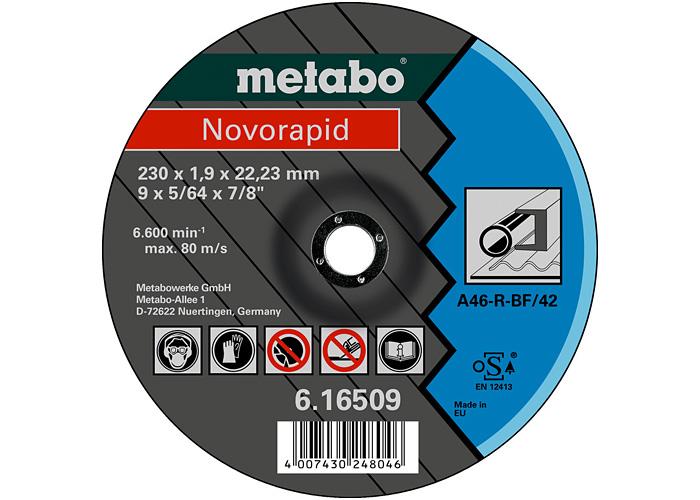 Отрезной круг  METABO Novorapid 180 мм (616508000)