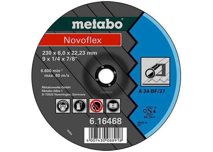 Обдирочный круг METABO Novoflex 180 мм (616465000)