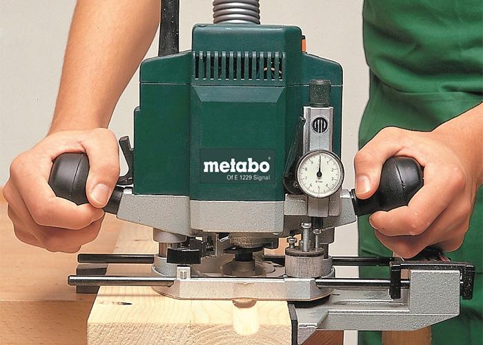 Фрезер METABO OFE 1229 Signal + Metaloc