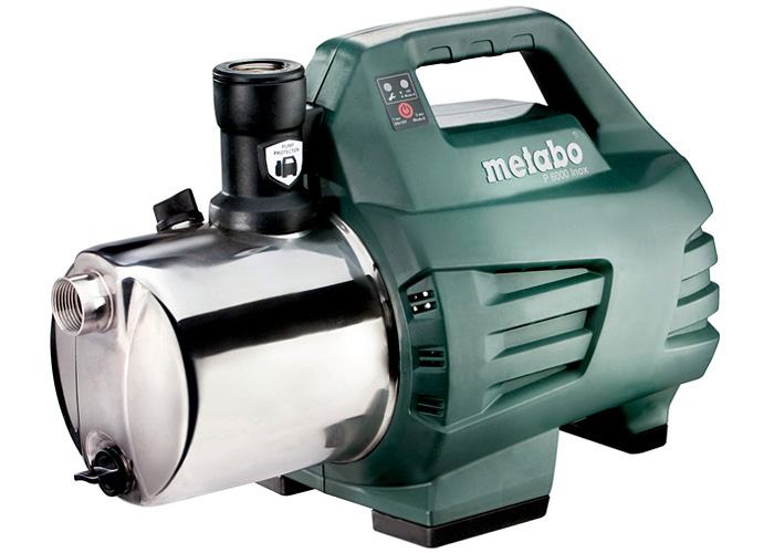 Садовый насос METABO P 6000 Inox