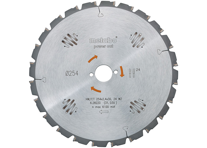 Пильный диск METABO Power Cut 350 мм (628017000)