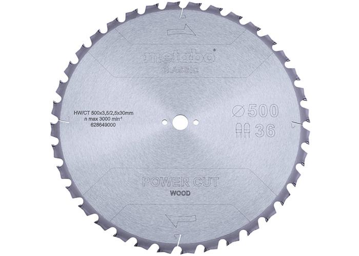 Пильный диск METABO Power Cut Wood Classic 500 мм (628649000)