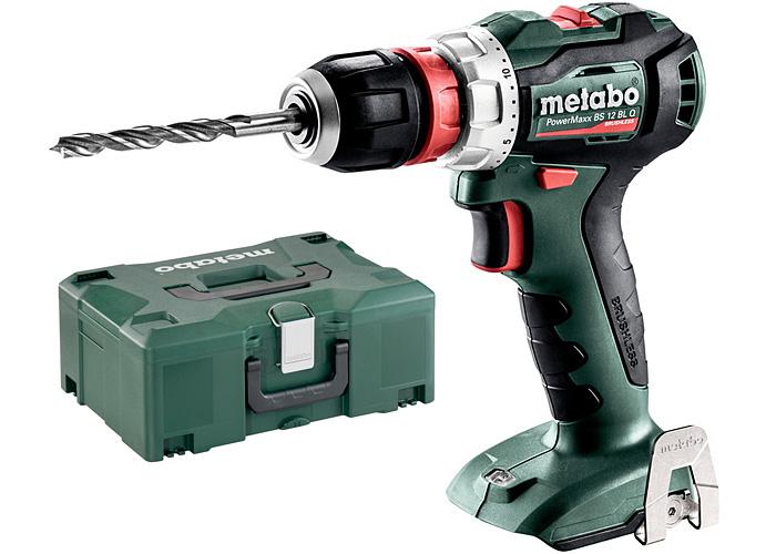 Аккумуляторный шуруповерт METABO PowerMaxx BS 12 BL Q Каркас + MetaLoc